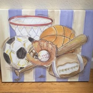 Other - Sports canvass decor